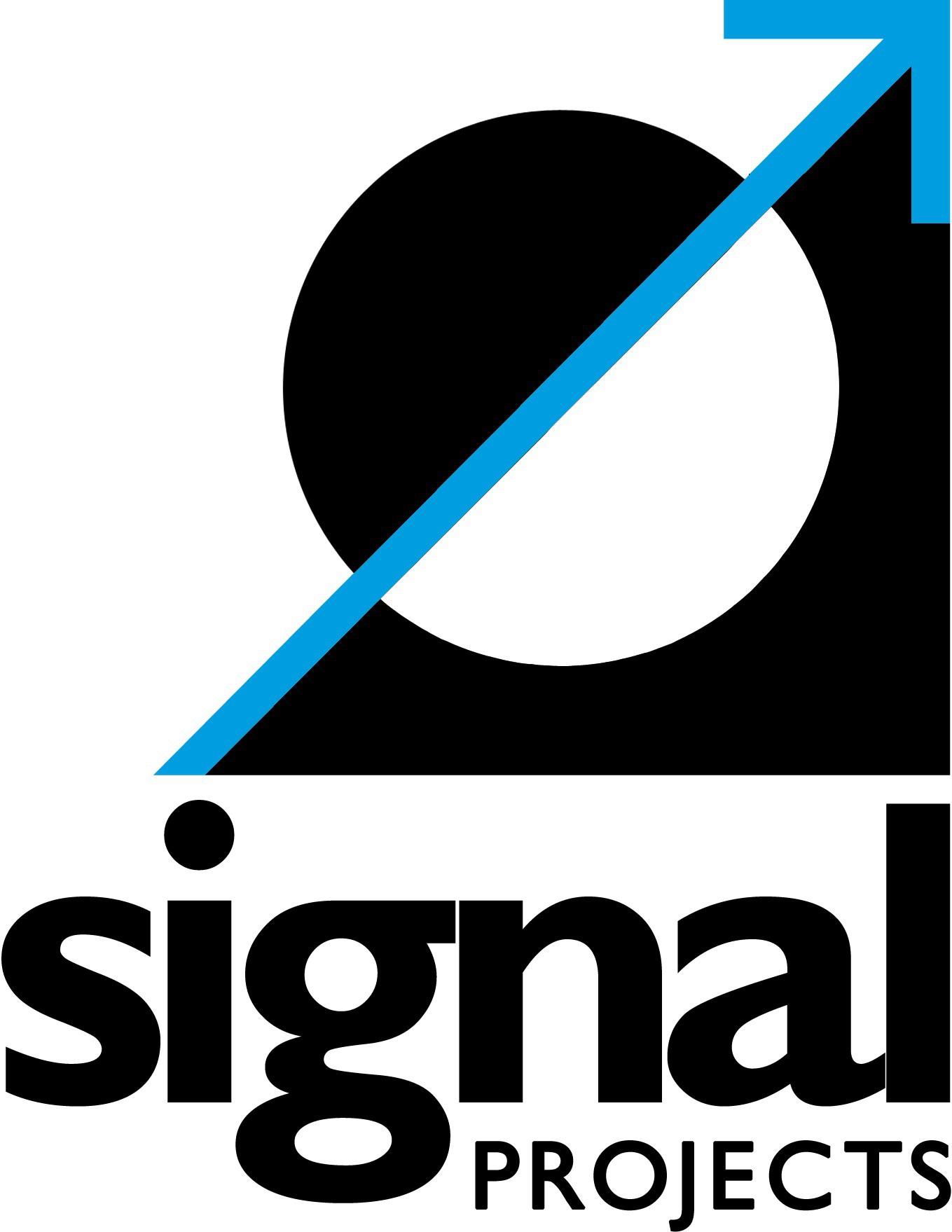 Signal Projects Logo Black Cyan