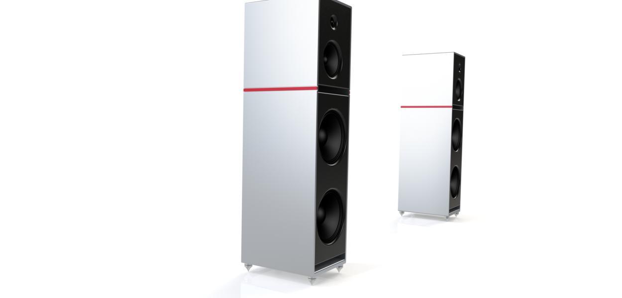 Alumine Five V1 Vue Duo Alu Fond Blanc
